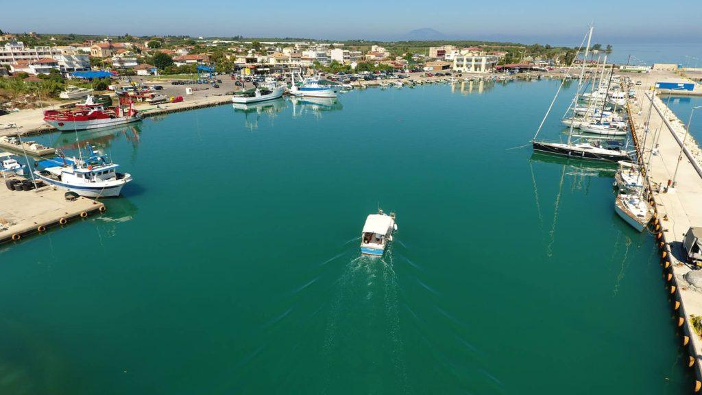 Αλιευτικό Καταφύγιο Κυλλήνης